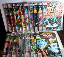 1979-81 Star Trek Marvel Comic Book Set of 18- VG/EX (SRP-004)
