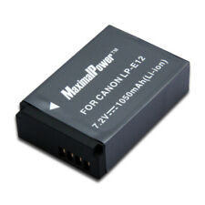 Camera Battery For CANON LP-E12 LPE12 EOS-M EOS M EOS M200 1050mAh 1.05Ah Li-ion