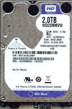 WD20NMVW-11EDZS2,  DCM: HHKTJBBB  WESTERN DIGITAL 2TB, USB 3.0