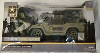 U.S. Army Patrol Playset Licensed Product of the U.S. Army - BRAND NEW!