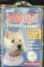 Halti Dog Head Collar Size 1 Black Safety Strap Included