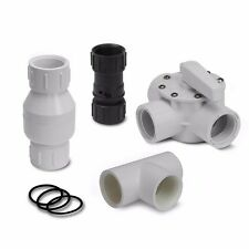 Swimming Pool Solar Panel Heater Connector Above Ground Divert Valve Kit Heating