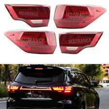 Set LED Red Tail Light For Toyota Highlander 2014 2015 2016 2017 2018 Rear Lamp