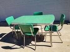 vintage 1950u0027s chrome formica table set
