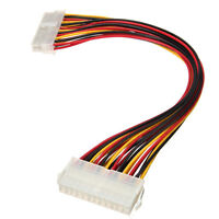 ATX 24 Pin Male to Female Extension Cable Internal PC PSU TW Power Lead  Nk