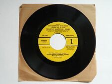 "SERGEANT PRESTON OF THE YUKON The case that made 7"" Quaker Cereal 45 record"