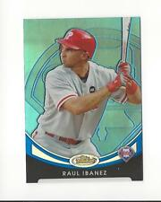 2010 Finest Refractor Blue #45 Raul Ibanez Phillies 193/299