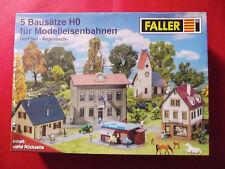 FALLER H0 * Dorf - Set ARGENBACH * 5 Gebäudebausätze, neu, ovp.