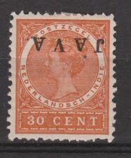 Nederlands Indie Netherlands Indies Indonesie nr 77f MLH JAVA KOPSTAAND 1908