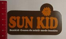 Aufkleber/Sticker: Sunkid Gosses du Soleil Mode insolite (200317153)