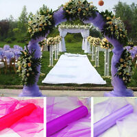 50 Yards Organza Fabric 60 inch Wide Sheer Draping Party Wedding 25 COLORS SALE