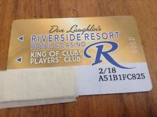 * Gold * Riverside Casino Club Card *Laughlin Neveda * Third Ter