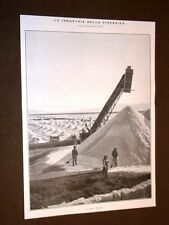Cirenaica o Libia nel 1911 Saline Salina a Bengasi e Panorama di Derna