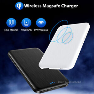 Magsafe Wireless Charger Power Bank For iPhone Apple & Samsung 12 Pro Max Mini