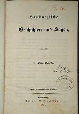 Hamburgische Geschichten und Sagen 1854 Otto Beneke Hamburg
