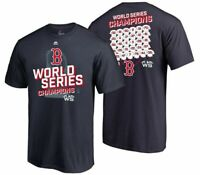 Boston Red Sox Youth Boys 2018 World Series Champs Roster T-Shirt - XL - NWT