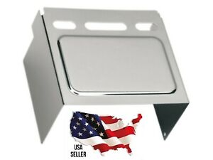 Drag Specialties CHROME Windowed Battery Box Cover Harley Dyna Sportster 1986-99