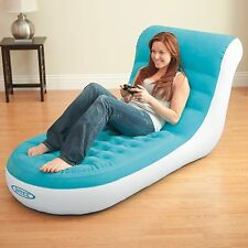 Intex Cafe Splash Lounge Inflatable Lounge Chair Dorm Gaming Seat