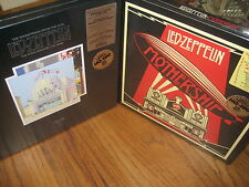 LED ZEPPELIN MOTHERSHIP GREATEST HIT & SONG REMAINS THE SAME 2 BOX SETS 8 LP'S
