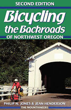 NEW Bicycling the Backroads of NW Oregon by Philip Jones