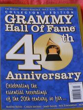 GRAMMY HALL OF FAME 40TH ANNIVERSARY MAGAZINE COLLECTOR'S EDITION BEATLES 2013