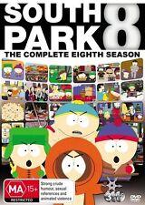 South Park : Season 8 (DVD PAL R4, 2011, 3-Disc Set)