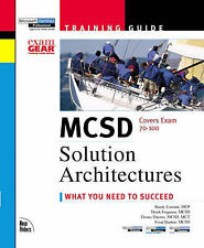 MCSD Training Guide: Solution Architectures (MCSE Training Guide) by Cornish, R