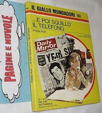 hurt  ... E POI SQUILLO' IL TELEFONO - GIALLO 1355