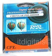 52mm CPL Lens Filter Circular Polarizer Polarizing Lens Filter C-PL Coated 52 mm