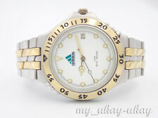 ADIDAS Equipment 100027 White Dial Two Tone Bracelet Stainless Steel Men's Watch