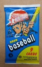 Purple Chrome Refractor Parallel Hot Pack -  2020 Topps Heritage Baseball