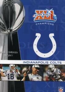 Super Bowl XLI: Champions, Indianapolis Colts (DVD 2007) New(S)