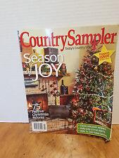 Country Sampler Magazine Christmas Season of Joy Country PRIMITIVES Nov 2015
