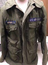 1966 US Military Sateen OG 107 Man's Coat - Size Medium Long