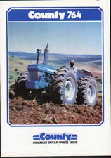 """County """"764"""" Tractor Brochure Leaflet"""