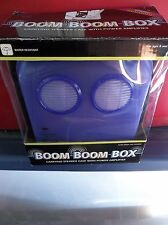 G.M.A. Access Boom Boom Box Purple Water Resistant Carrying Speaker Case w/ Powe