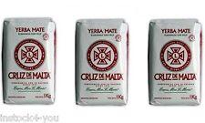YERBA MATE CRUZ DE MALTA 3KG-6.6LB FROM ARGENTINA-FREE SHIPPING-!!!*****