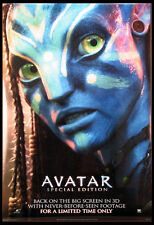 AVATAR JAMES CAMERON SPECIAL EDITION 2009 TEASER 1-SHEET DS NM