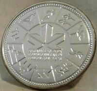 1978 CANADA UNC SPECIMEN SILVER DOLLAR - 11th Commonwealth Games
