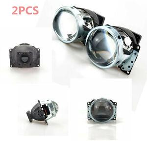 2X BiXenon Projector Lens Fittings for Car Headlight Q5 D1S D2S D2H D3S Bulb LHD