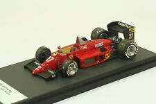 Ferrari f1/85 Alboreto Tameo built kit 1:43 in BBR showcase, no AMR
