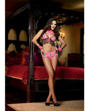 Ride 'Em Cowgirl Sexy Cowgirl Costume New Adult Womens Dreamgirl Pink One Size