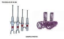 "D2 Lowering Springs 1.6"" Truhart Shocks For 2011-2014 Sonata and Optima"