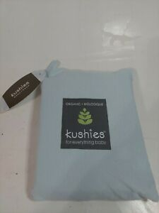 Organic Biologique Change Pad Fitted Sheet With Slits For Straps *Sage*