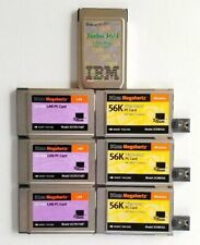 IBM Token Ring 16/4-3Com 10/100 LAN- 3Com 56K Winmodem PC Card Lot Of 7 Pieces
