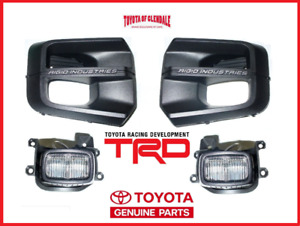 2016-2021 TOYOTA TACOMA TRD PRO RIGID INDUSTRIES LED FOG LIGHT KIT GENUINE OEM