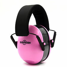 Hearing Noise Protection Earmuff Infant&Children Adjustable to fit 0-12 Yrs Pink
