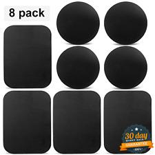 8 Pcs Universal Metal Plate Adhesive Magnet Mount Mobile Cell Phone Car Holder