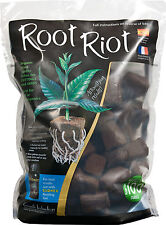 Growth Technology Root Riot Plant Cubes 50 cube refill bag