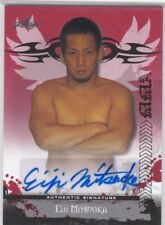 UFC MMA Eiji Mitsuoka Authentic autographed signed Auto card